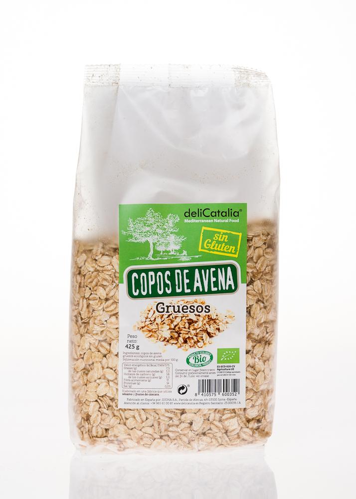 Copos gruesos de avena org nicos sin gluten eca000127 food and more - Copos de avena bruggen ...